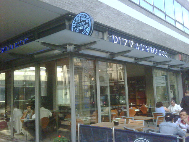 Pizza Express, Langham Place 1 down, 127 to go