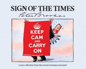 Sign of the Times by Peter Brookes