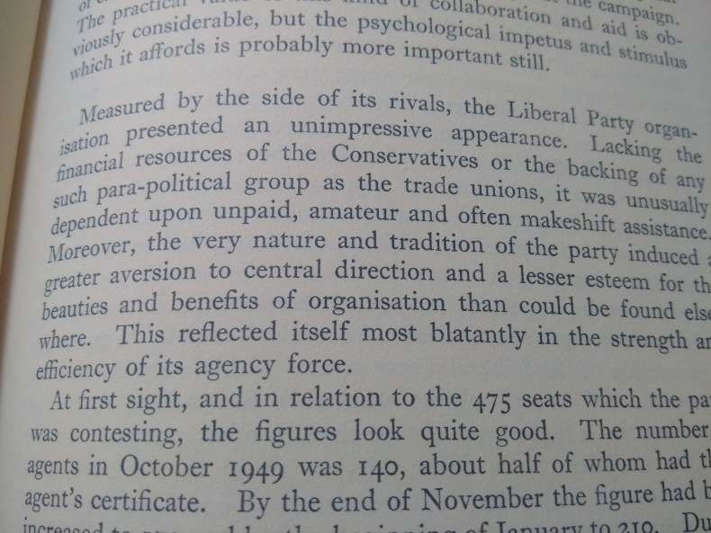 Extract from The General Election of 1950