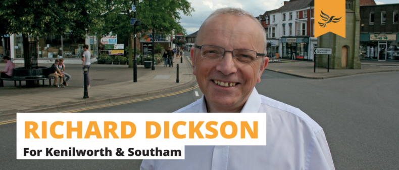 Richard Dickson in Kenilworth and Southam