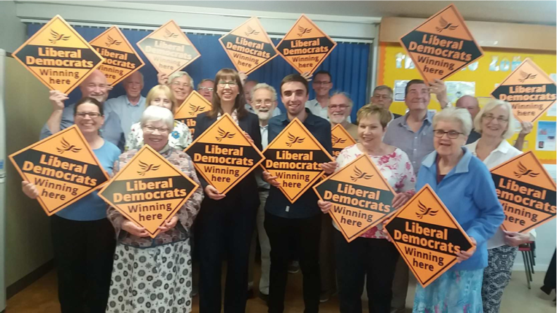 Emily Coy and Chesterfield Liberal Democrats