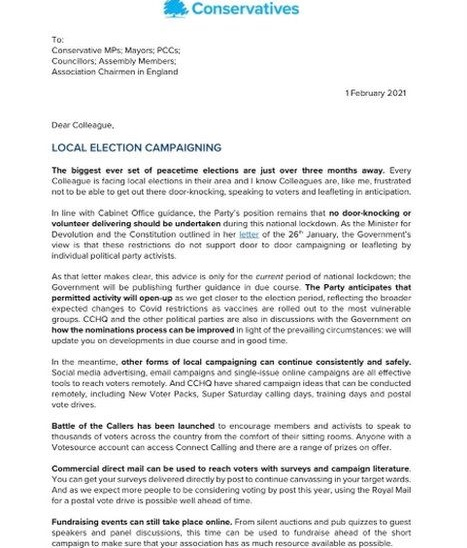 Amanda Milling letter to Conservatives - p1